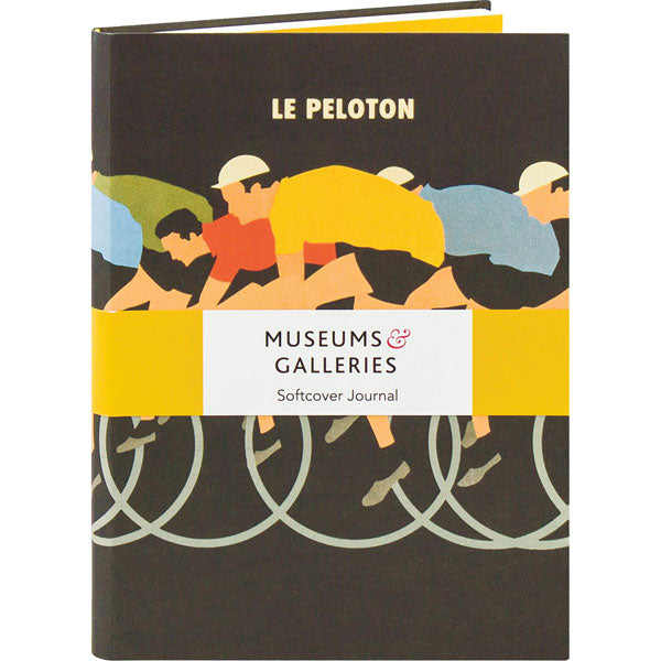 'Le Peloton' Soft Cover Journal