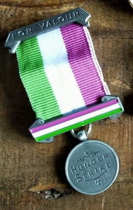 Suffragette Hunger Strike Replica Medal