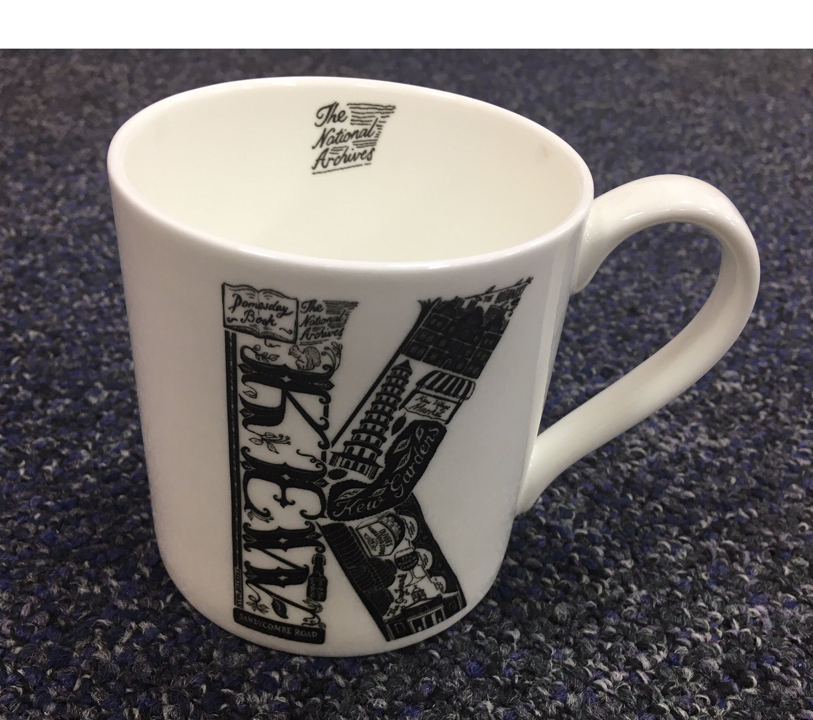 The National Archives 'K' Is For Kew Mug