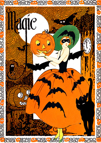 Night of Magic Halloween Greetings Card