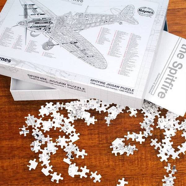 Anatomy of the Spitfire Jigsaw Puzzle
