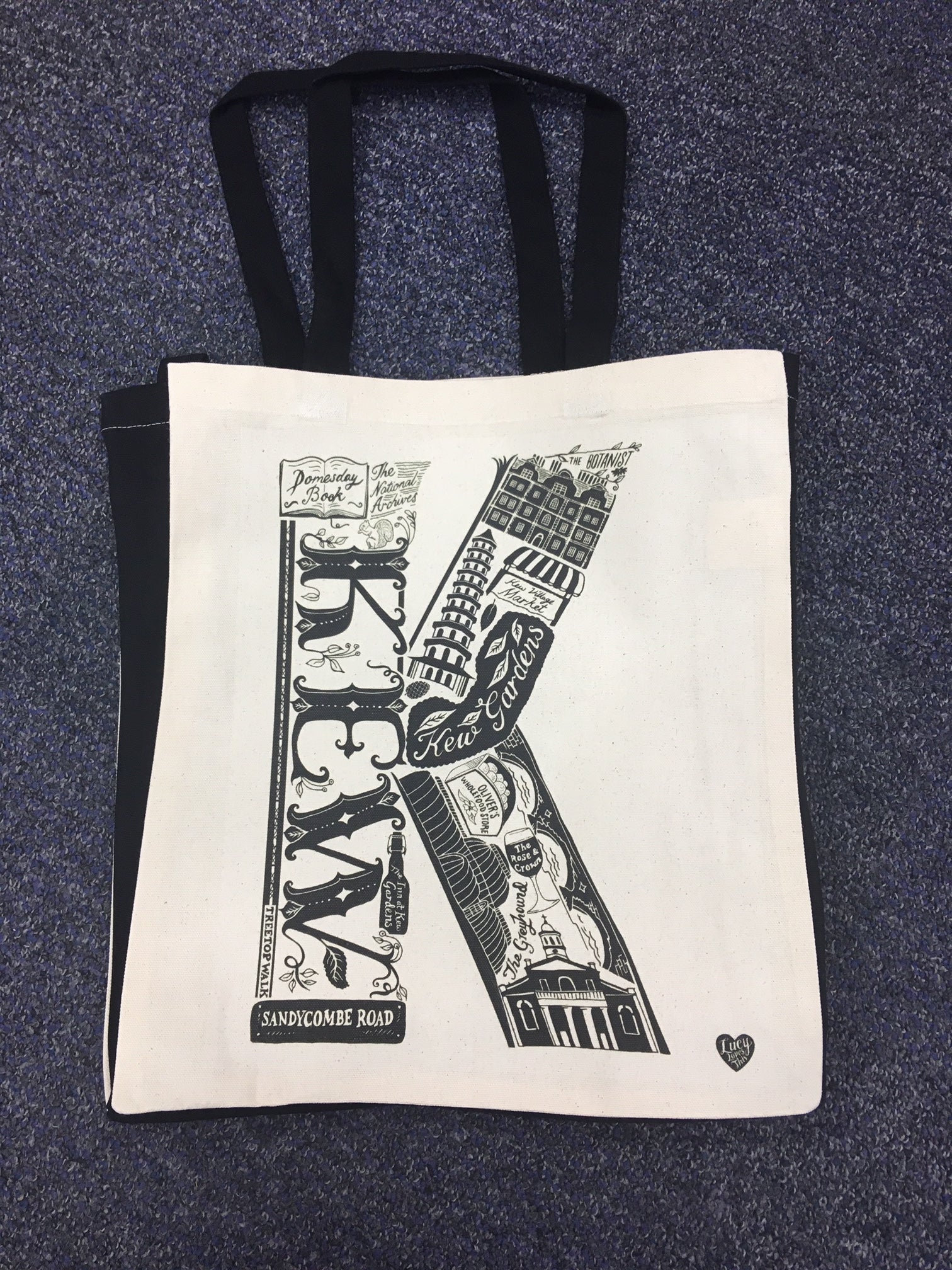 The National Archives 'K' Is For Kew Tote Bag