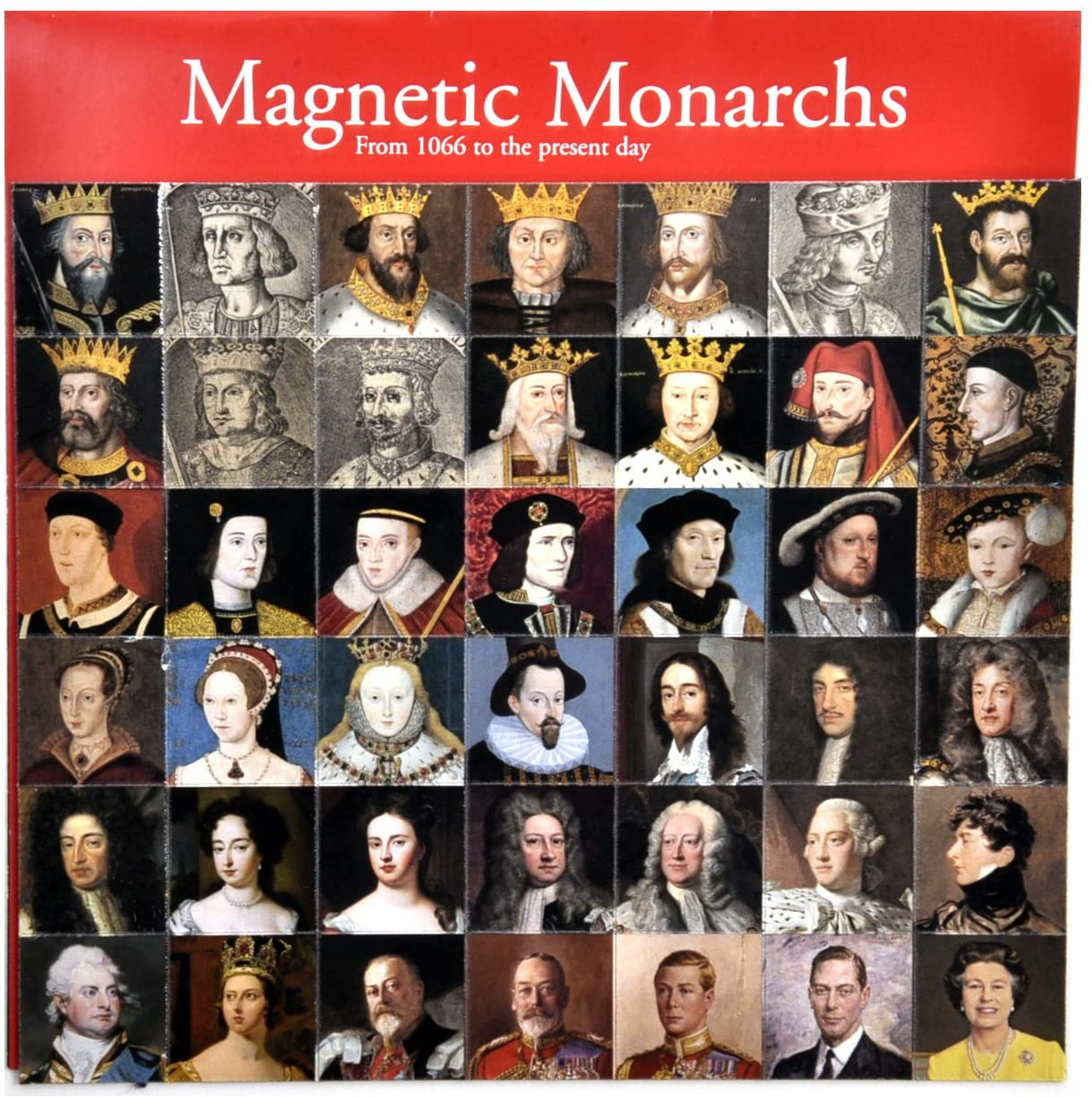 Magnetic Monarchs Magnet Set