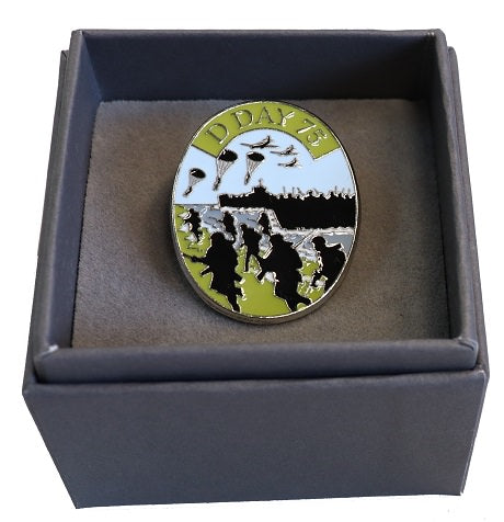 Boxed D-Day Commeorative Pin Badge