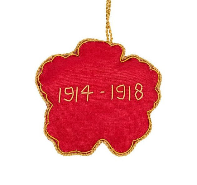 Remembrance Poppy Decoration