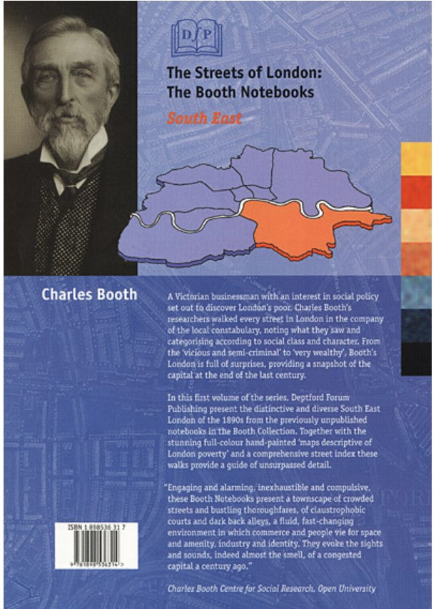 Cover of The Streets of London: The Booth Notebooks - South East