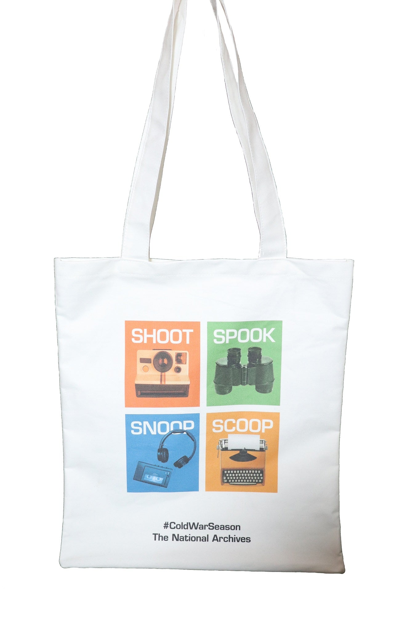 Snoop Shoot Spook Scoop Cotton Tote Bag