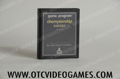 Championship Soccer - Off the Charts Video Games