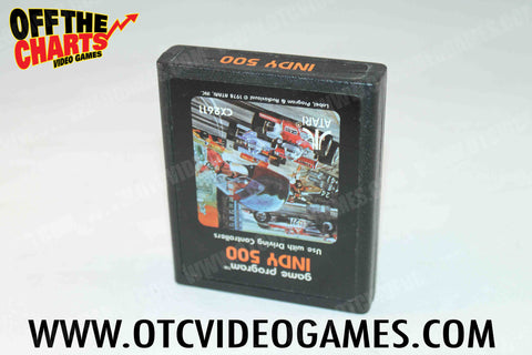 Indy 500 Atari 2600 Game Off the Charts