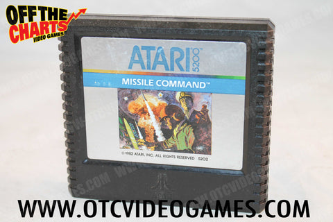 Missile Command - Off the Charts Video Games