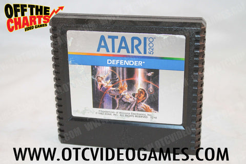 Defender Atari 5200 Game Off the Charts