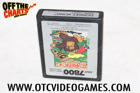 Donkey Kong Atari 7800 Game Off the Charts