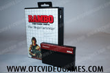 Rambo:First Blood Part 2 Sega Master System Game Off the Charts