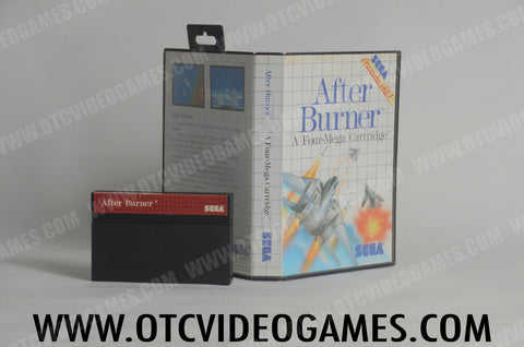 After Burner - Off the Charts Video Games