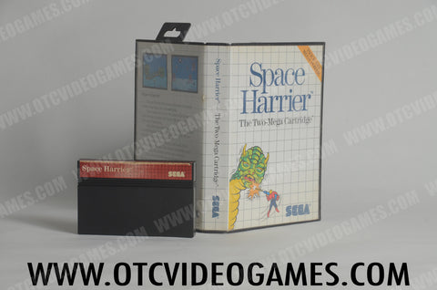 Space Harrier Sega Master System Game Off the Charts