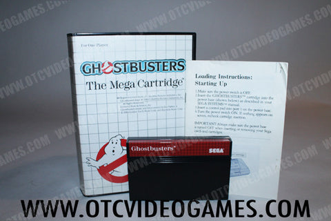 Ghostbusters Sega Master System Game Off the Charts
