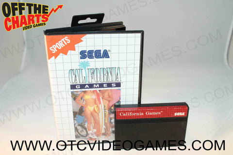 California Games - Off the Charts Video Games