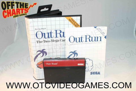 Out Run - Off the Charts Video Games