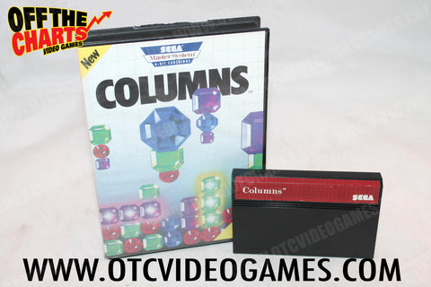 Columns - Off the Charts Video Games