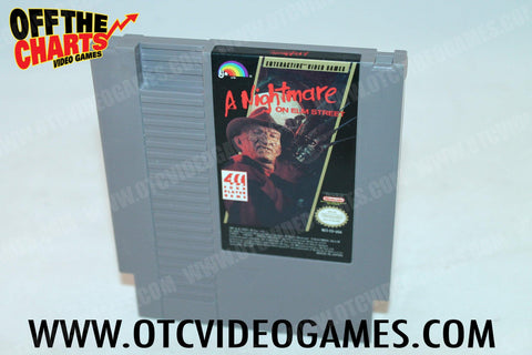 A Nightmare on Elm Street Nintendo NES Game Off the Charts