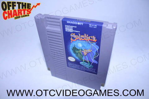 Solstice Nintendo NES Game Off the Charts