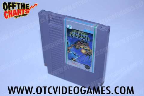 Alpha Mission - Off the Charts Video Games