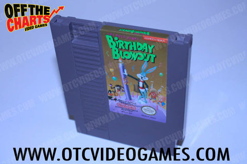 Bugs Bunny Birthday Blowout Nintendo NES Game Off the Charts