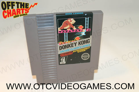 Donkey Kong Nintendo NES Game Off the Charts