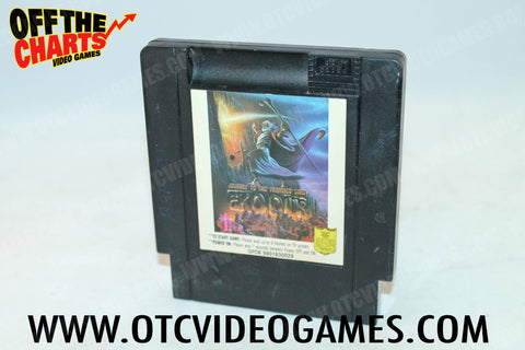 Exodus: Journey to the Promised Land Nintendo NES Game Off the Charts