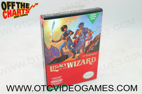 Legacy of the Wizard Box - Off the Charts Video Games