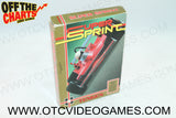 Super Sprint Box Nintendo NES Box Off the Charts