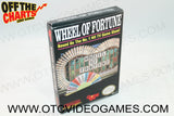 Wheel of Fortune Box Nintendo NES Box Off the Charts