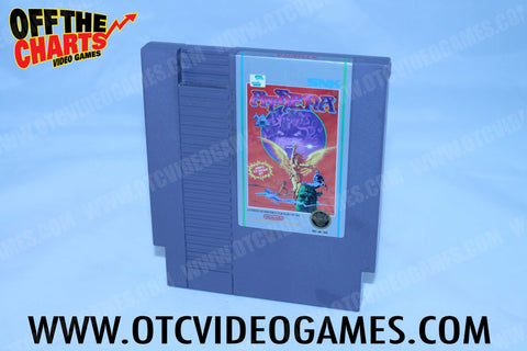 Athena Nintendo NES Game Off the Charts