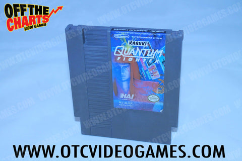 Kabuki Quantum Fighter Nintendo NES Game Off the Charts
