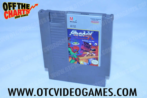 Abadox Nintendo NES Game Off the Charts