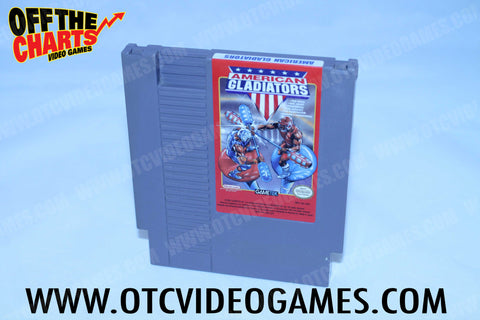American Gladiators - Off the Charts Video Games