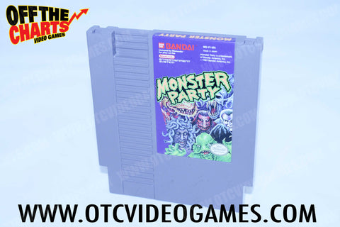 Monster Party Nintendo NES Game Off the Charts