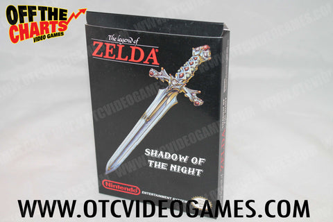 The Legend of Zelda: Shadow of the Night Box (REPRODUCTION) Nintendo NES Box Off the Charts