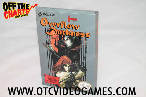 Castlevania: Overflow Darkness Box (REPRODUCTION) Nintendo NES Box Off the Charts