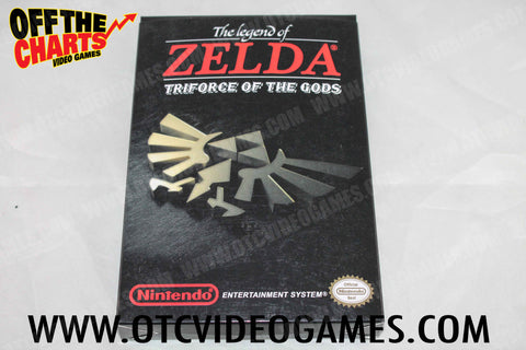 The Legend of Zelda: Triforce of the Gods Box (REPRODUCTION) Nintendo NES Box Off the Charts