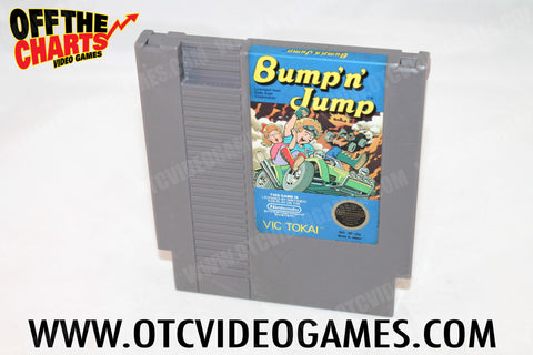 Bump 'N' Jump Nintendo NES Game Off the Charts