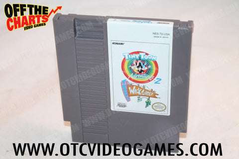 Tiny Toon Adventures 2 Trouble in Wackyland Nintendo NES Game Off the Charts