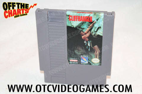 Cliffhanger Nintendo NES Game Off the Charts
