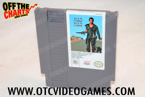Mad Max Nintendo NES Game Off the Charts
