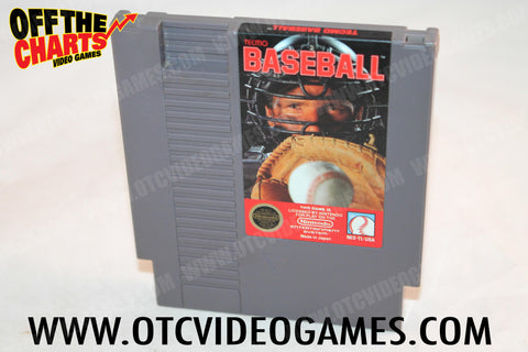 Tecmo Baseball Nintendo NES Game Off the Charts