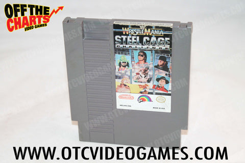 Wrestlemania Steel Cage Challenge Nintendo NES Game Off the Charts