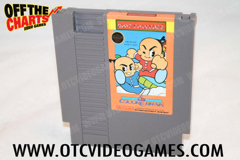 Kung Fu Heroes Nintendo NES Game Off the Charts