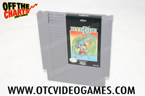 Hydlide Nintendo NES Game Off the Charts