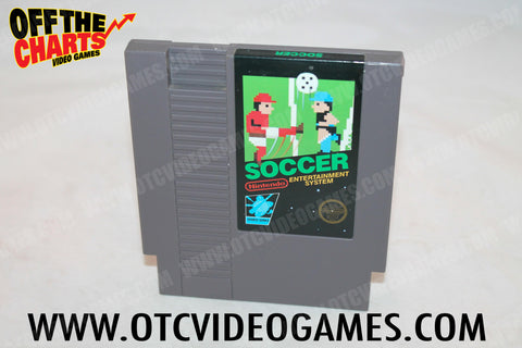 Soccer Nintendo NES Game Off the Charts