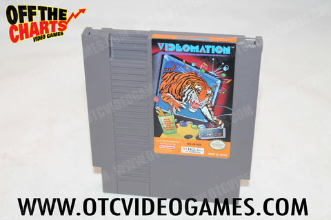 Videomation Nintendo NES Game Off the Charts